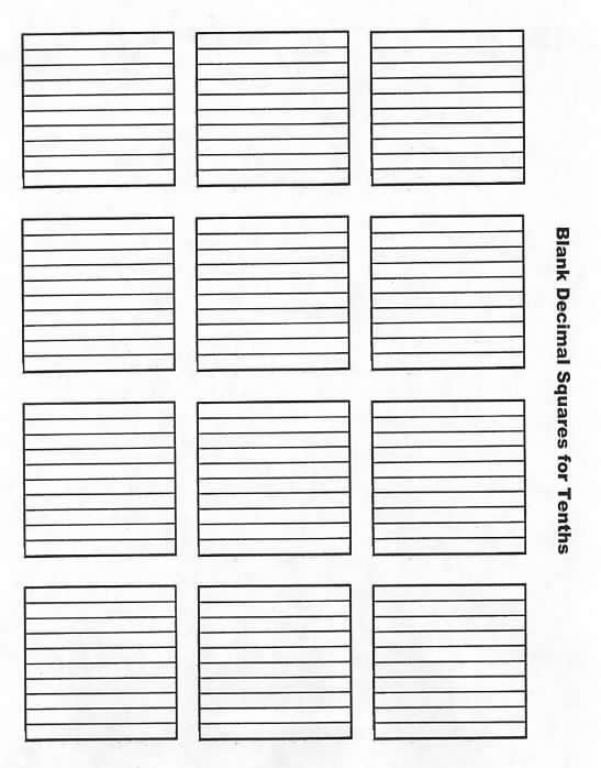 math worksheet : wel e to decimal squares program : Decimal Squares Worksheets