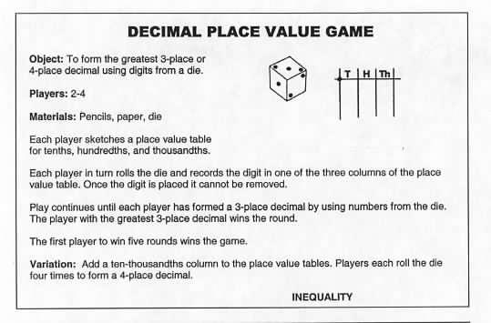 Math: Delightful Decimals - Lessons - Tes Teach